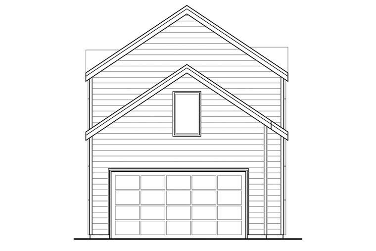 Contemporary Florida Ranch Southwest House Plan 60928 Rear Elevation