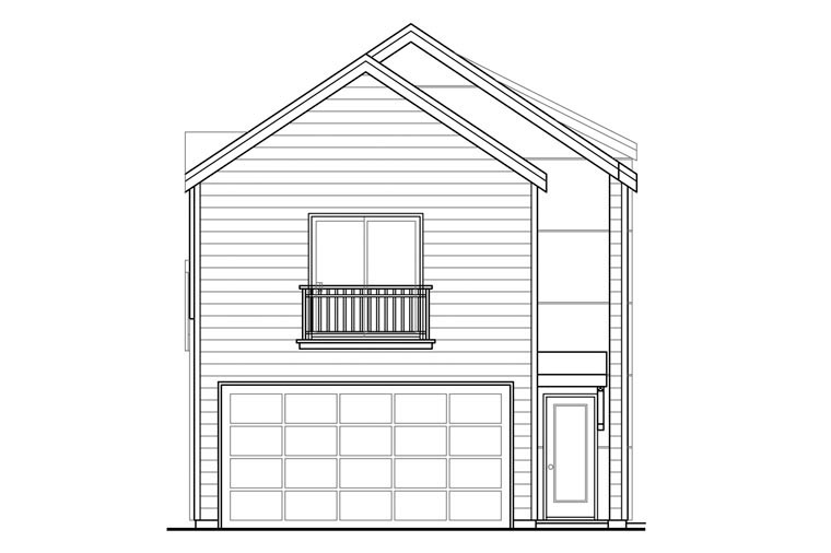 Florida Southwest House Plan 60932 Rear Elevation