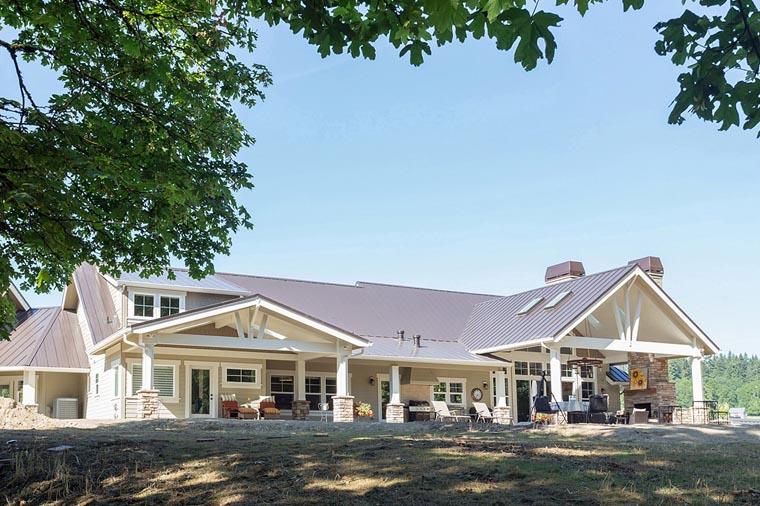 Craftsman Prairie Style House Plan 60939
