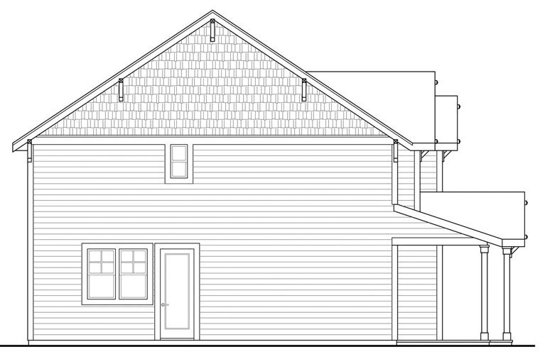 Country, Traditional House Plan 60943 with 3 Beds, 3 Baths, 2 Car Garage Picture 1