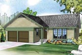 Plan Number 60950 - 1298 Square Feet