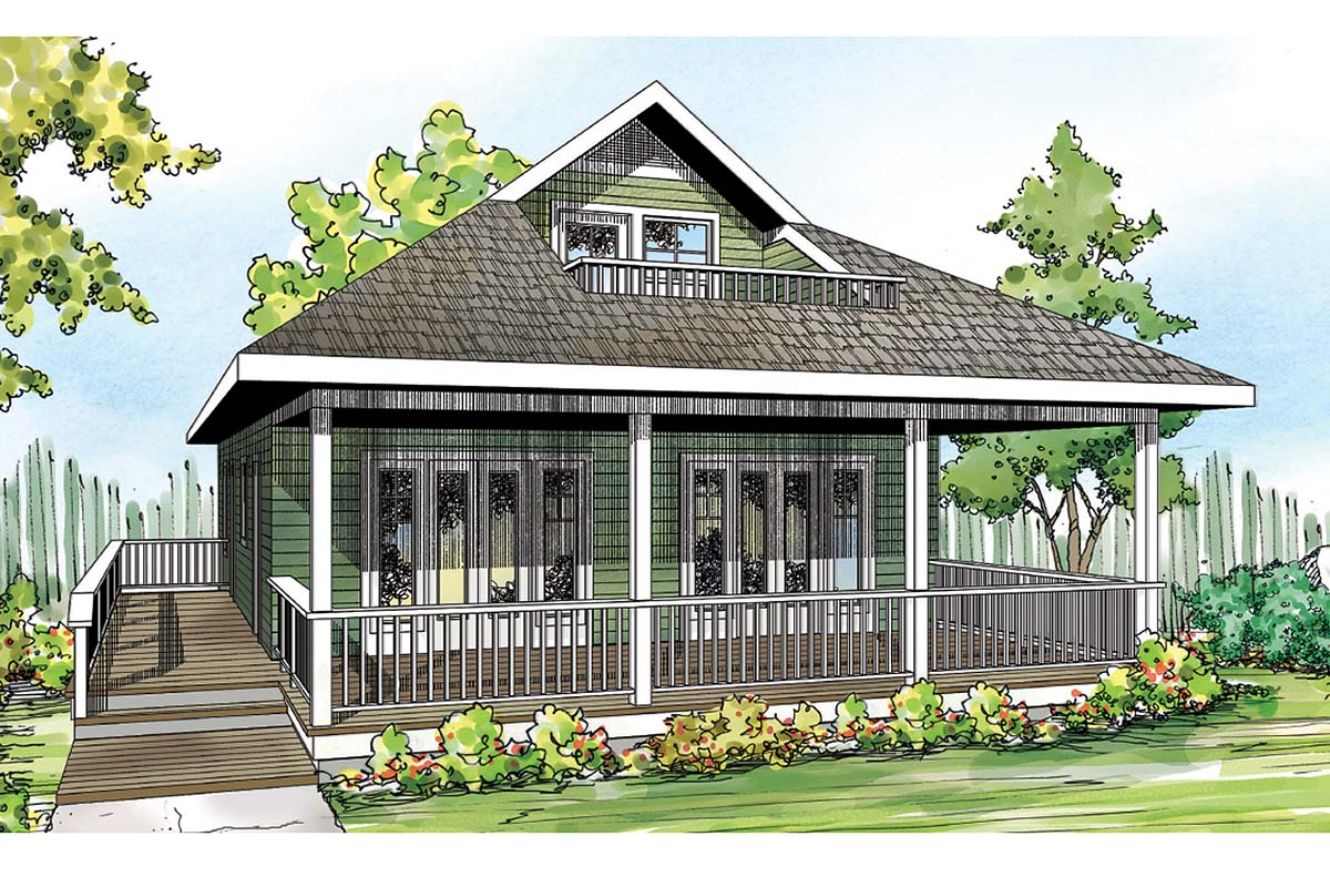 House Plan 60953 At Familyhomeplans Com