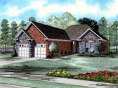 Plan Number 61008 - 1387 Square Feet
