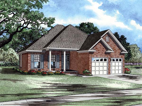 House Plan 61009