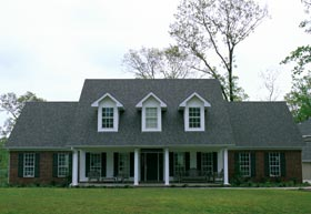 Colonial Southern House Plan 61019 Elevation