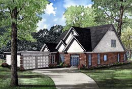 Traditional House Plan 61027 Elevation