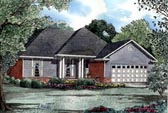Plan Number 61032 - 1485 Square Feet