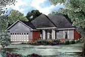 Plan Number 61033 - 1485 Square Feet