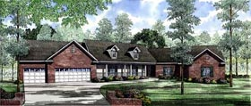 Country House Plan 61043 Elevation