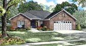 Plan Number 61044 - 1353 Square Feet