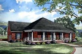 Plan Number 61053 - 2607 Square Feet