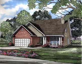 Country House Plan 61058 Elevation