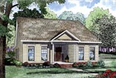 Plan Number 61064 - 1734 Square Feet