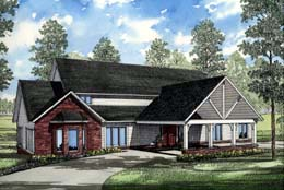 Traditional House Plan 61065 Elevation