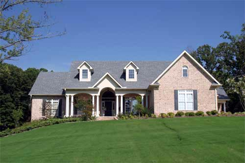 Colonial, Southern House Plan 61072 with 4 Beds, 3 Baths, 2 Car Garage Picture 1