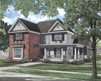 Country House Plan 61092 Elevation