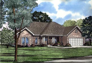 Southern House Plan 61096 Elevation