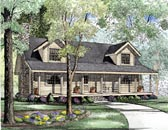 Plan Number 61133 - 1810 Square Feet