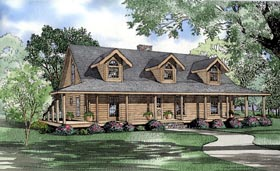 Plan Number 61142 - 2741 Square Feet