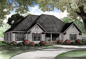 Plan Number 61159 - 2405 Square Feet