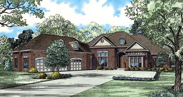 House Plan 61160 Elevation