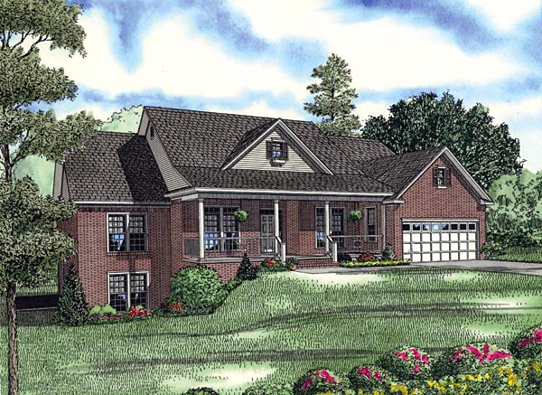 House Plan 61161 Elevation