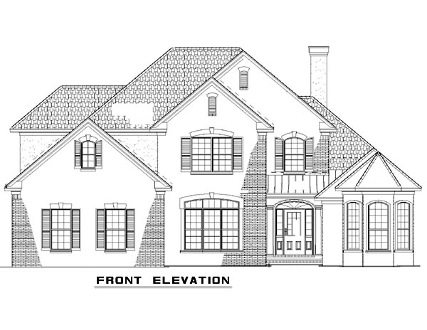 Traditional House Plan 61162