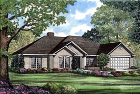 Traditional House Plan 61170 Elevation