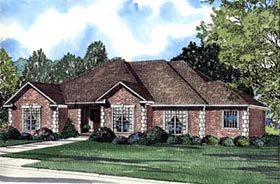 Plan Number 61183 - 2540 Square Feet