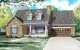 Traditional House Plan 61185 Elevation