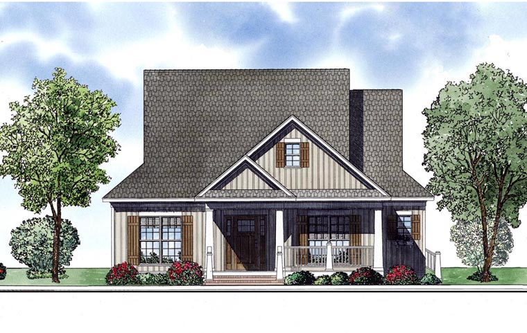 House Plan 61189 Elevation