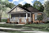 Plan Number 61201 - 1348 Square Feet
