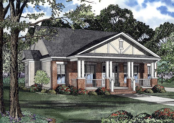 Colonial House Plan 61202 Elevation