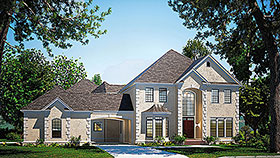 Plan Number 61205 - 4334 Square Feet