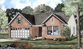 Traditional House Plan 61207 Elevation