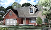 Plan Number 61208 - 1604 Square Feet
