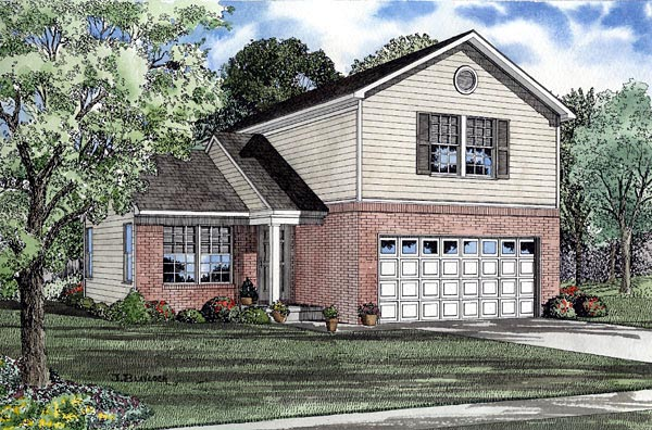 Traditional House Plan 61213 Elevation
