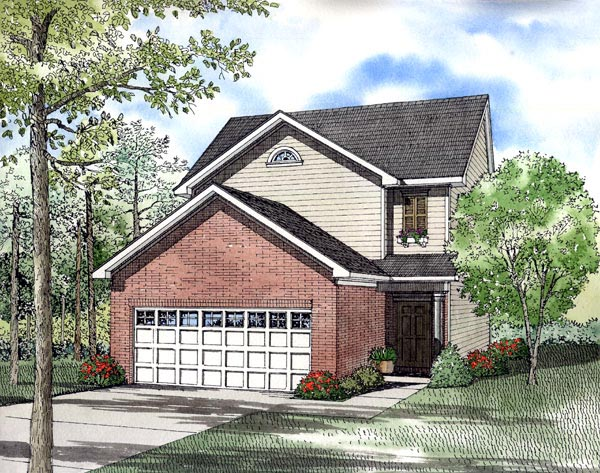 Traditional House Plan 61216 Elevation