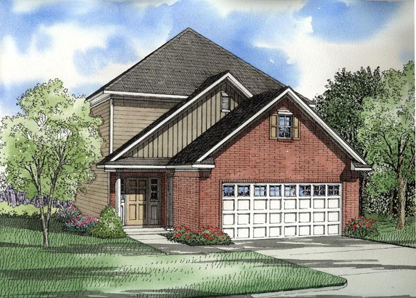 Traditional House Plan 61217 Elevation