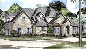 Contemporary House Plan 61220 Elevation