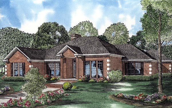 Contemporary House Plan 61240 Elevation
