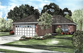 Traditional House Plan 61241 Elevation