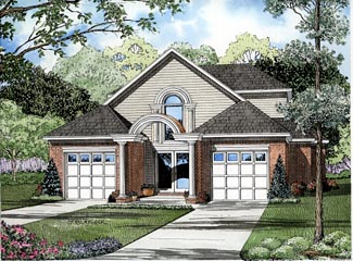 Contemporary House Plan 61242 Elevation