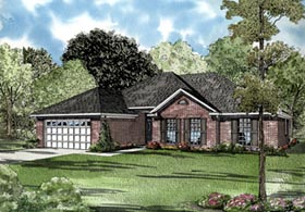 Traditional House Plan 61247 Elevation