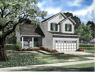 Country House Plan 61282 Elevation
