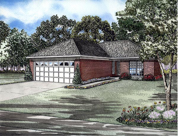 Traditional House Plan 61289 Elevation