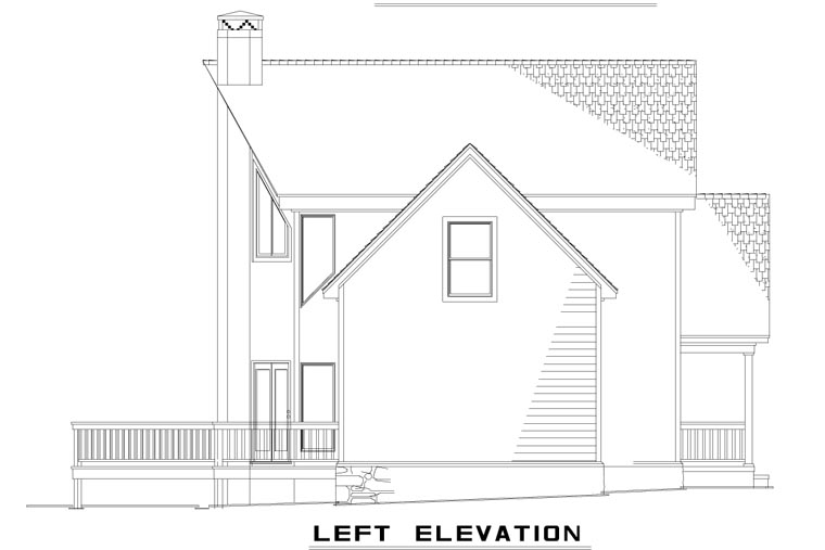 A-Frame, Coastal, Contemporary House Plan 61290 with 2 Beds, 2 Baths, 1 Car Garage Picture 1