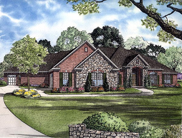 Traditional House Plan 61291 Elevation