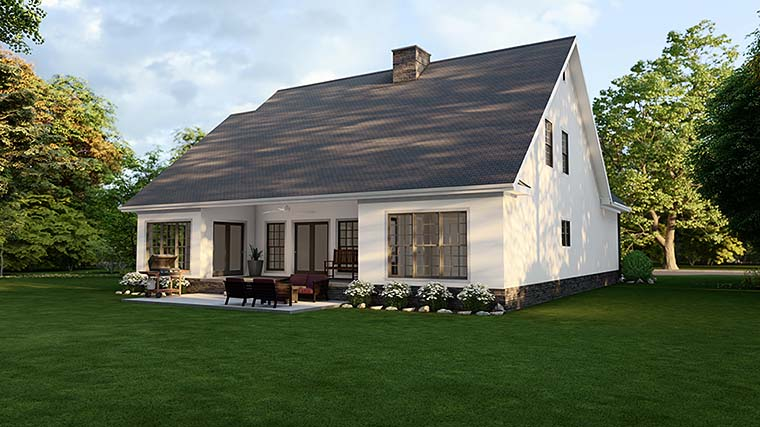 Country House Plan 61293 with 4 Beds, 3 Baths, 2 Car Garage Picture 5