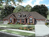 Plan Number 61294 - 4076 Square Feet